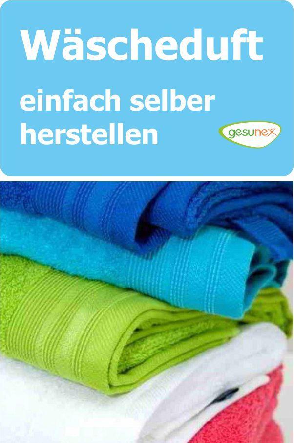 Wäscheduft – einfach selber herstellen