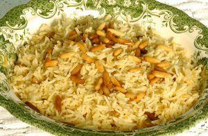 Fenyőmagos rizs