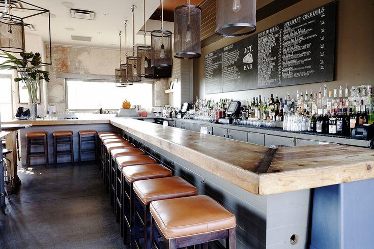 JCT. Kitchen & Bar | Smith Hanes. restaurant interior