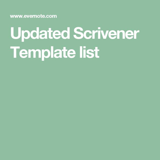 123 Best Images About Scrivener Tips On Pinterest