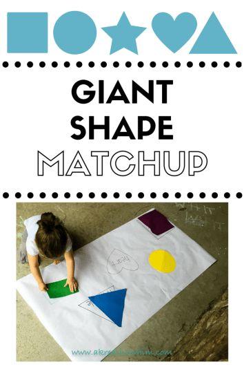 Toddlers, Shapes, Sensory, shape matchup, preschool