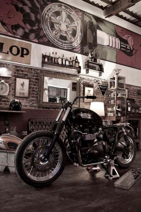 25 best dressed up ranch or rambler or cape images by for Motorcycle garage plans