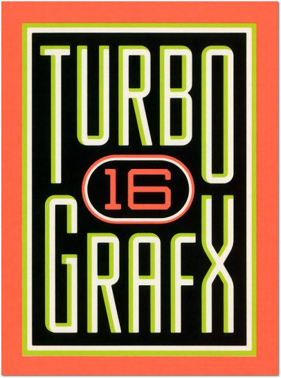TurboGrafx 16 Logo