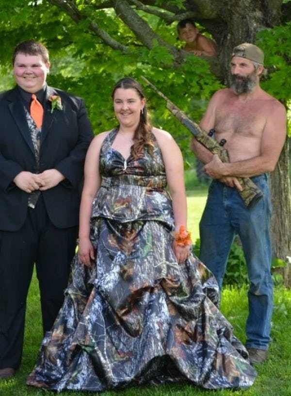 The Classy Protective Dad is listed (or ranked) 2 on the list The Most Awkward Prom Photos to Ever Exist