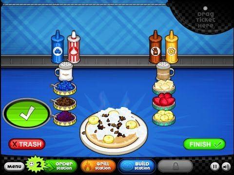 Friv3-Games.org - Have Fun With Papa's Pancakeria Game - Enjoy