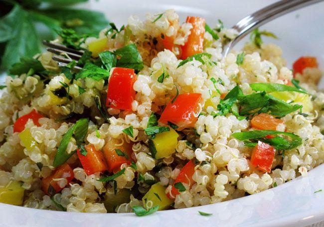 Insalata di quinoa e seppioline - ricetta