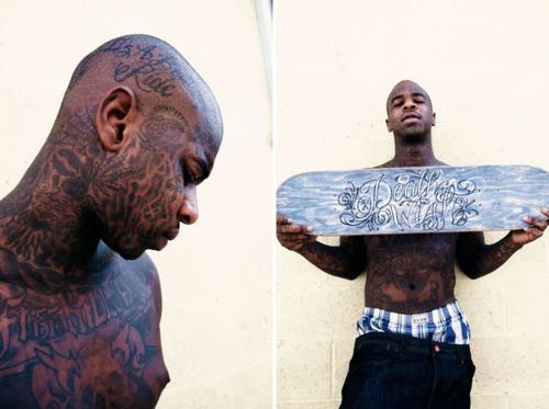Antwuan Dixon Of Baker, Shake Junt, and Deathwish Skateboards, Grip, Wheels, Barrings, Bolts, and Screws.