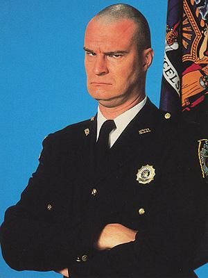 Bailliff Nostradamus 'Bull' Shannon (Richard Moll). Night Court (1984-1992)