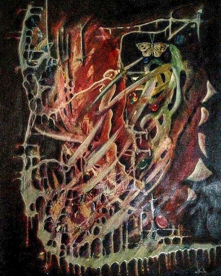 Gallerymak.com - 7.700 TL / 2.150 USD Falling Into Pieces by Ceyda Caba Tuval üzerine Karışık Teknik / Mixed Media on Canvas 70cm x 100cm   #gallerymak #soyut #abstractart #oilpainting #oiloncanvas #sergi #yağlıboya #koleksiyon #tasarim #abstractexpressionism #dekorasyon #tasarım #sanat #ressam #resim #tablo #contemporary #contemporaryart