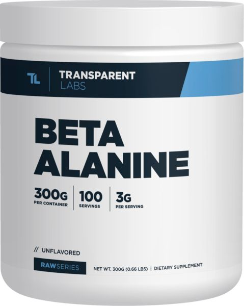 How Beta Alanine gives you EXPLOSIVE MUSCULAR STRENGTH AND POWER OUTPUT RawSeries Beta-Alanine – Transparent Labs