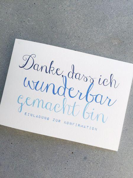 Einladung Zur Konfirmation/Kommunion   WUNDER.BAR