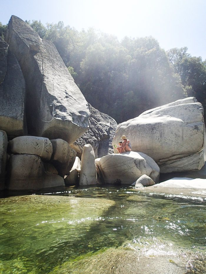 Daytrip: Swimming in South Yuba River (about 1 hour and 45 minutes from Davis)
