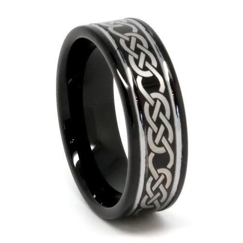 Tungsten Ring Direct - Black Tungsten Ring for Men, High End with Laser Etch Design, Flat Top, High Polish, 8MM, $24.99 (http://www.tungstenringdirect.com/black-tungsten-ring-for-men-high-end-with-laser-etch-design-flat-top-high-polish-8mm/)