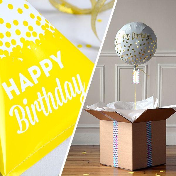 1000 id es sur le th me surprise avec des ballons d 39 anniversaire sur pinterest ballon surprise - Idee anniversaire surprise ...