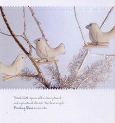 Птички из фетра. Выкройки | Домохозяйка