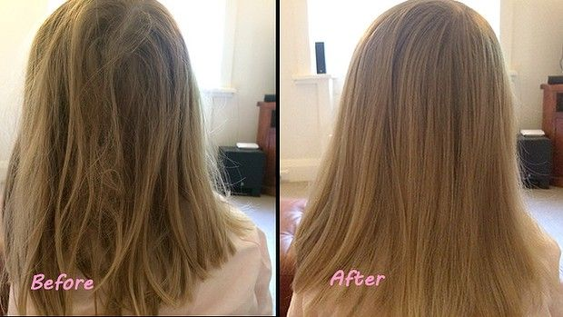 Tangle Teezer Before and After