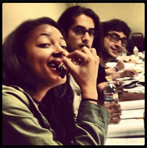 Twisted ABC Family | Table Reading | Kylie, Avan and Ashton