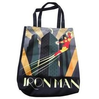 'Iron Man' Vintage Art Deco Shopper Tote Bag