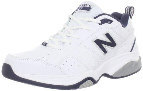 New Balance Men's MX623 Cross-Training Shoe,White/Navy,12 D US New Balance,http://www.amazon.com/dp/B007JTXM4Q/ref=cm_sw_r_pi_dp_dlAttb04JZNEHF39