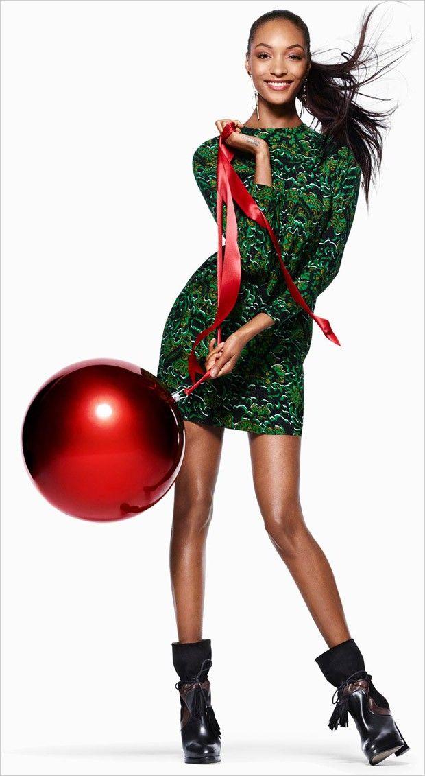 Наташа Поли и Джордан Данн в рекламе H&M's Holiday 2015 (Интернет-журнал ETODAY)