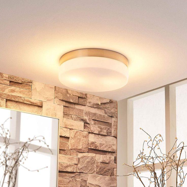 Moderne Deckenleuchte Von Lampenwelt Com Weiss Lampenlicht