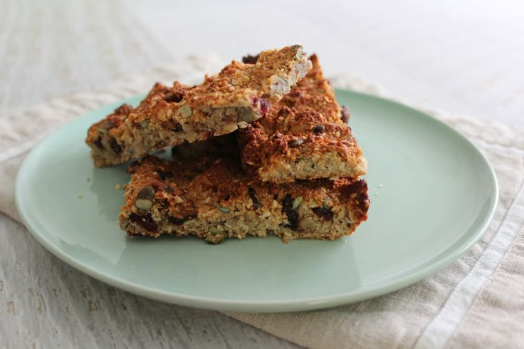 Breakfast bars. This photo was taken in our Thermomix test kitchen. The image is not featured in the cookbook. #cookingformeandyou