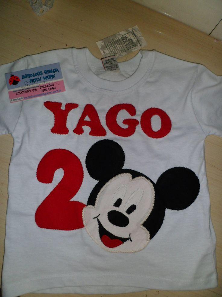 Camiseta do Mickey