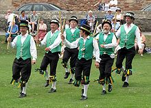 Morris Dancing - an old-English folk dance tradition, now found in many countries across the world.