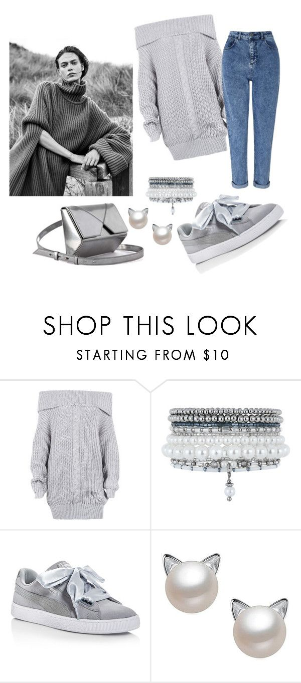 """Untitled #343"" by inesgenebra on Polyvore featuring Monsoon, Puma and Miss Selfridge"