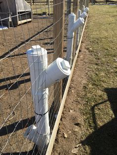 PVC pipe chicken feeders that can be filled without going inside the coop.