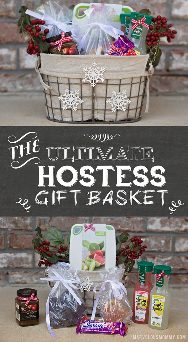 Ultimate Hostess Gift Basket For The Party Hostess In Your
