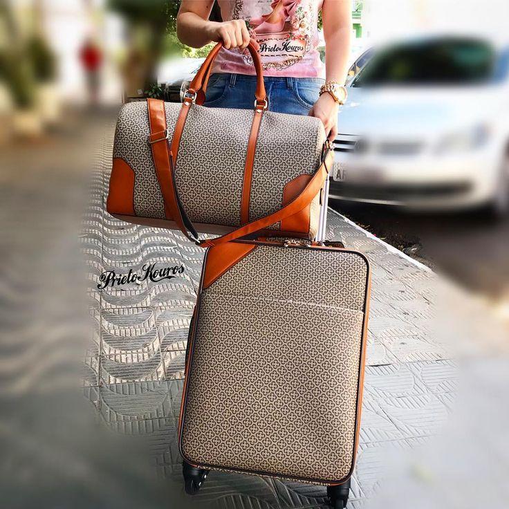 Já marcou a sua viajem pra esse ano?! A Capodarte vai com você! Acabamos de receber a mala de mão e a mala de rodinha ambos de bordo!  Viaje com estilo viaje de Capodarte... #prietokouros #viajecomestilo #capodarte #newcollection #newyork #france #paris #pk