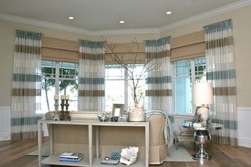 25 best ideas about short window curtains on pinterest - Long or short curtains in living room ...