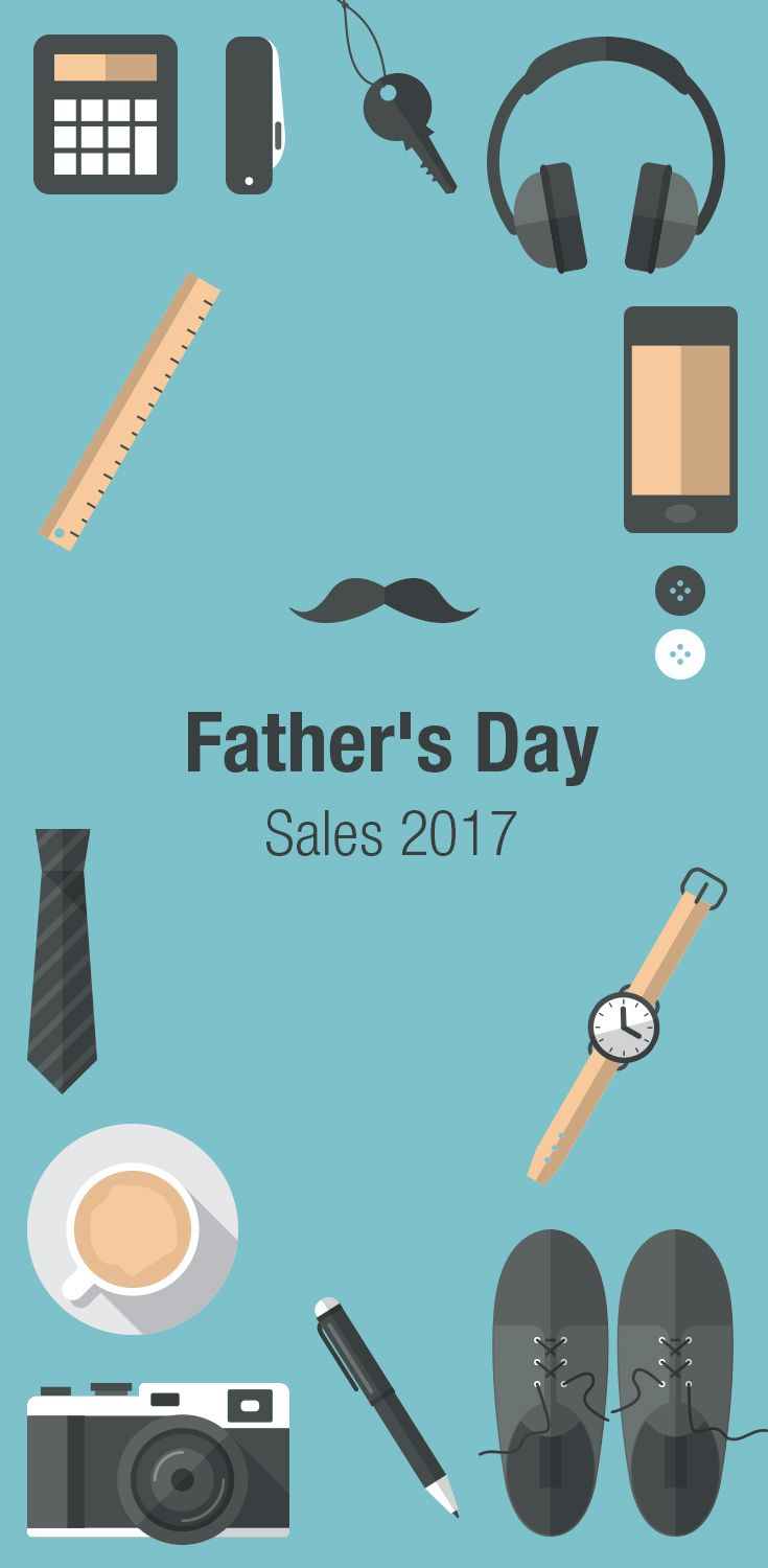 When is Father's Day? Father's Day 2017 is Sunday, June 18th. We've compiled the best sales, deals, and coupons to help you with your search for the best Father's Day gifts! Find the best deals for TVs, electronics, clothing, power tools & more!