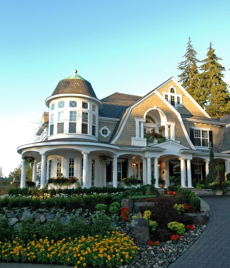 Shingle style waterfront home plans for Shingle style home plans