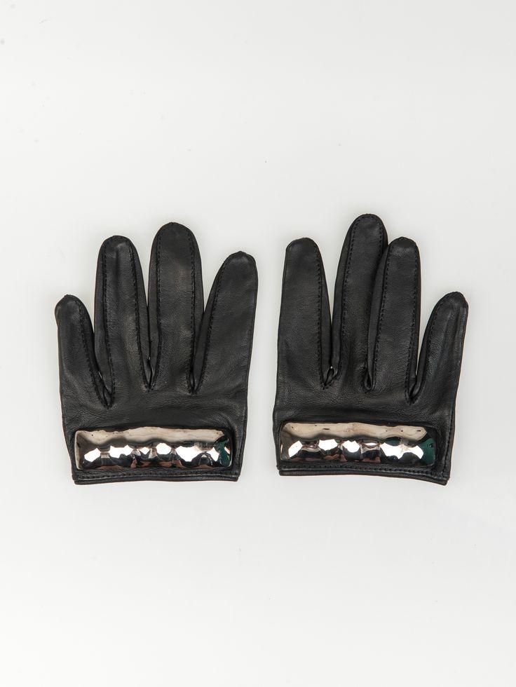 MAJESTY BLACK , Thin Brass Knuckles Gunmetal #shopigo#shopigono17#womenswear#ss15#madonna#majestyblack