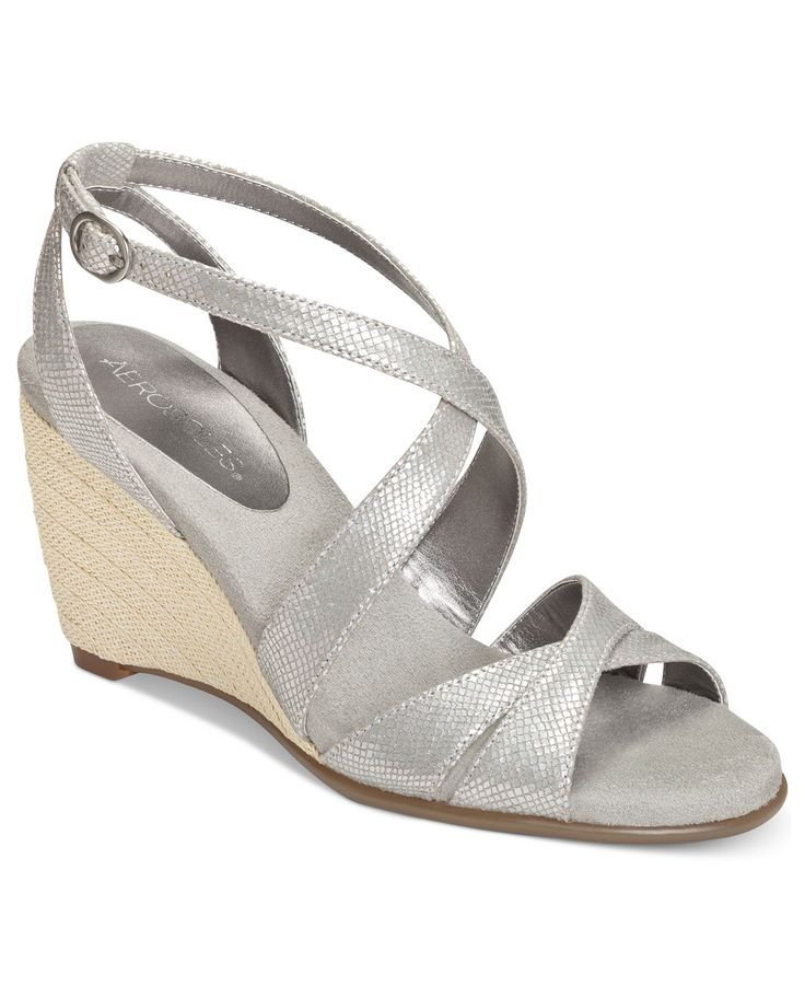 Aerosoles Shoes Bronze Age Wedge Sandals from Macy\u0026#39;s (http://www1 ...