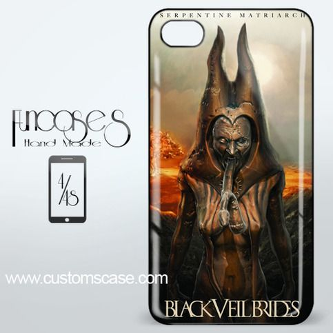 Black Veil Brides Serpentine iPhone 4 or 4S Case Cover from Funcases