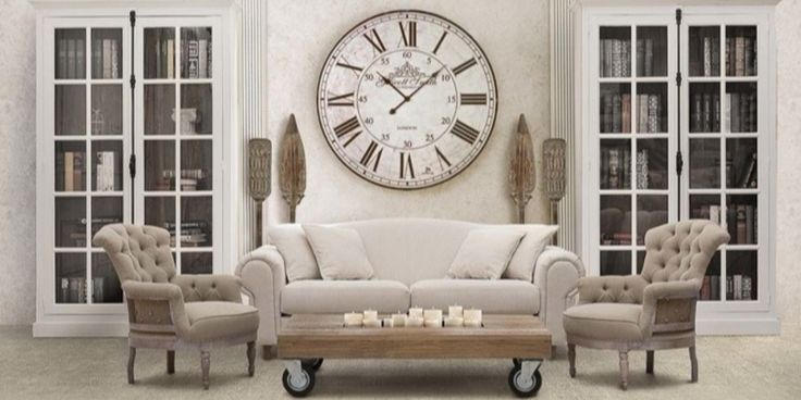 Мебель в стиле прованс для русской зимы   Интерьер, Дизайн ...