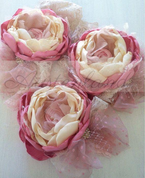 Blush rose dreams choose headband  hair clip or by Austenland,  https://www.etsy.com/shop/Austenland #hairaccessories #props #headband  #austenlandgirl