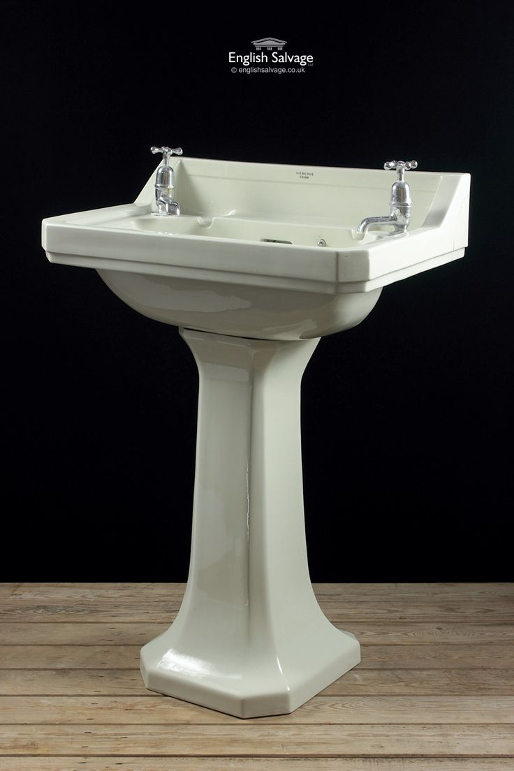 Shanks sink and stand reclaimed porcelain sinks and chrome stands - Royal Doulton Corner Cut Pedestal Hand Basin Bathrooms Belfasts And Taps Pinterest Reclamation Yard Architectural Salvage And Royal Doulton