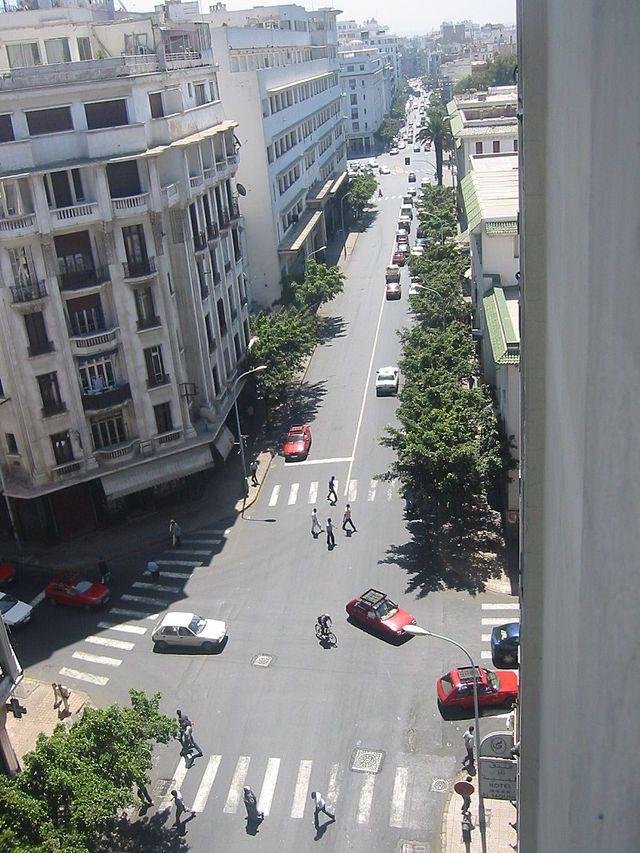 カサブランカはモロッコ最大の経済都市であり、アフリカ有数の世界都市である。 Boulevard de Paris, Casablanca ◆モロッコ - Wikipedia https://ja.wikipedia.org/wiki/%E3%83%A2%E3%83%AD%E3%83%83%E3%82%B3 #Morocco
