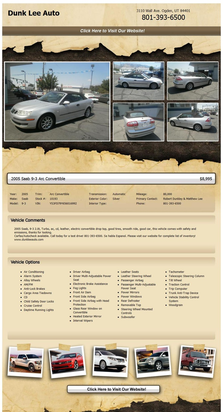 2005 saab 9 3 arc convertible new owner needed