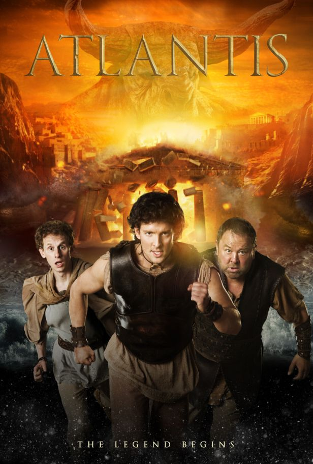 Coming soon, from the makers of Merlin, BBC's Atlantis<< Great... yet ANOTHER British television series I will probably fall in love with only to have my heart ripped violently from my chest...