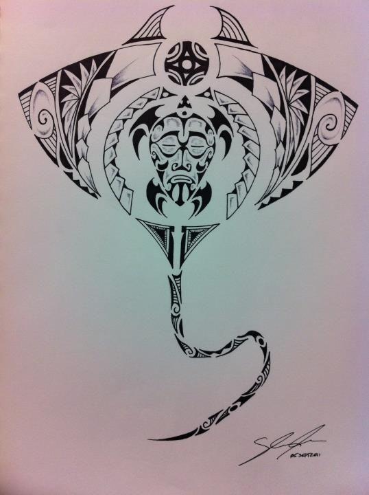 Random Polynesian Design 01 by StitchATL.deviantart.com on @deviantART