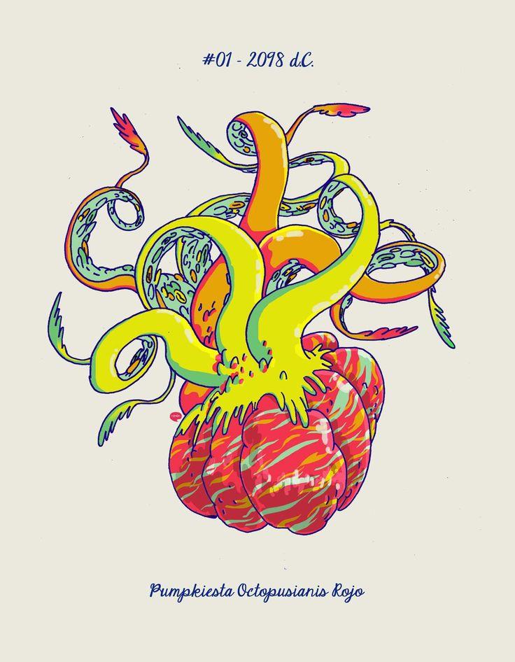Pumpkiest Octopusianus Rojo