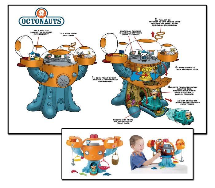 Octonauts Playset By Tom McWeeney At Coroflot.com