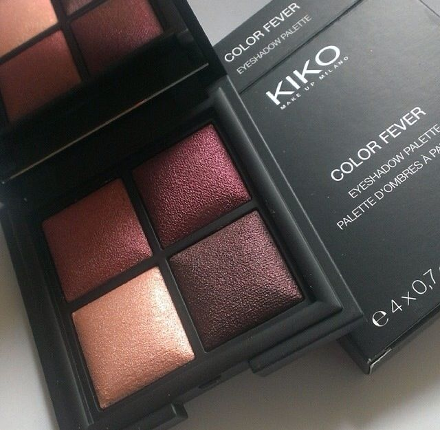 Kiko plum based eyeshadow palette