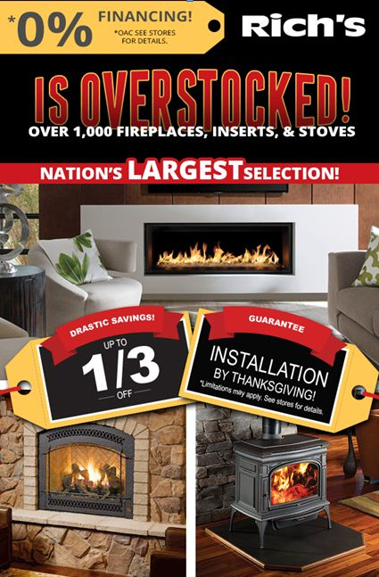 ... Wood, Electric, And Pellet Stoves, Fireplaces, And Inserts At All 5  Richu0027s Locations In Bellevue, Lynnwood, Tacoma, Tukwila, And Silverdale, WA.