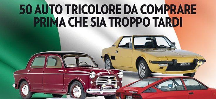 In edicola con Ruoteclassiche: Made in Italy, 50 auto tricolore da comprare